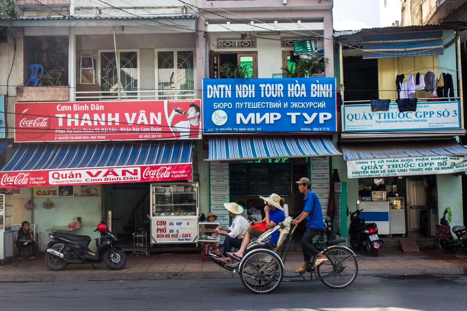 Russians in Nha Trang, Vietnam