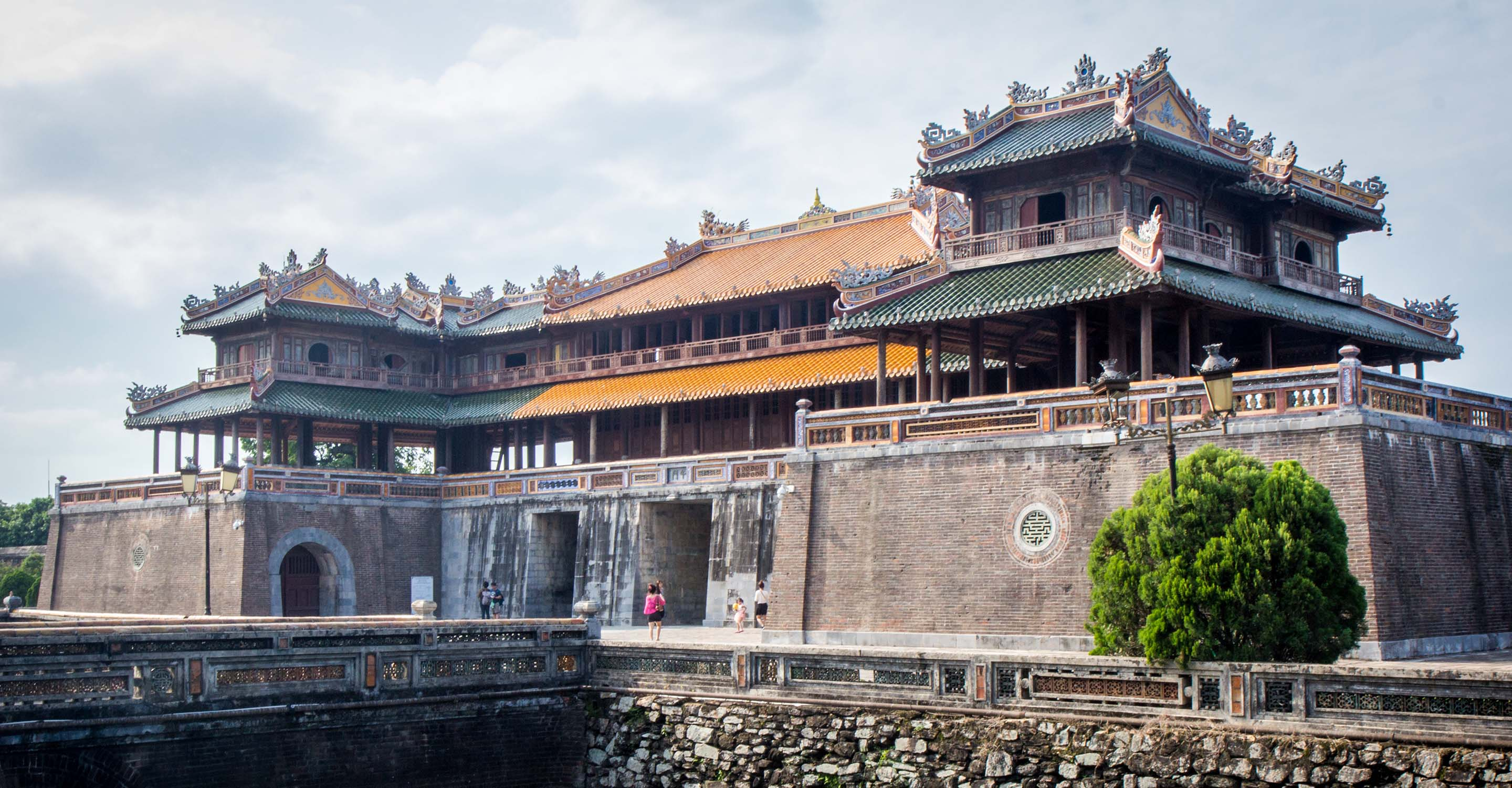 Visiting the Imperial City of Hue - The Hue Citadel, Vietnam