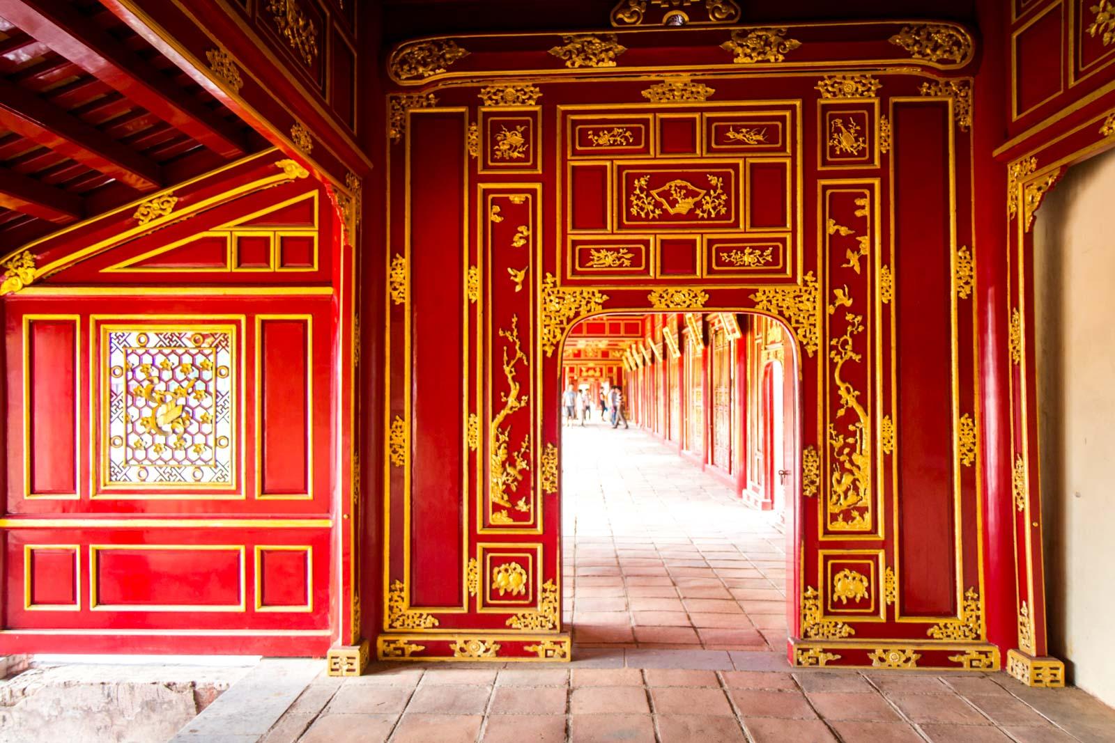 Imperial City of Hue, Vietnam