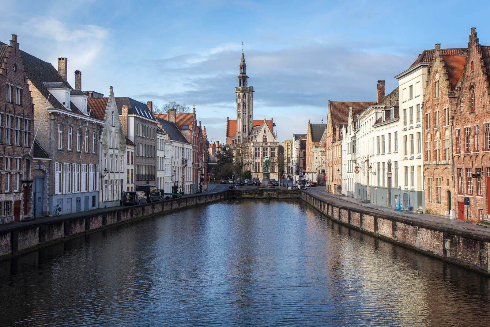 Historic centre of Bruges, Belgium