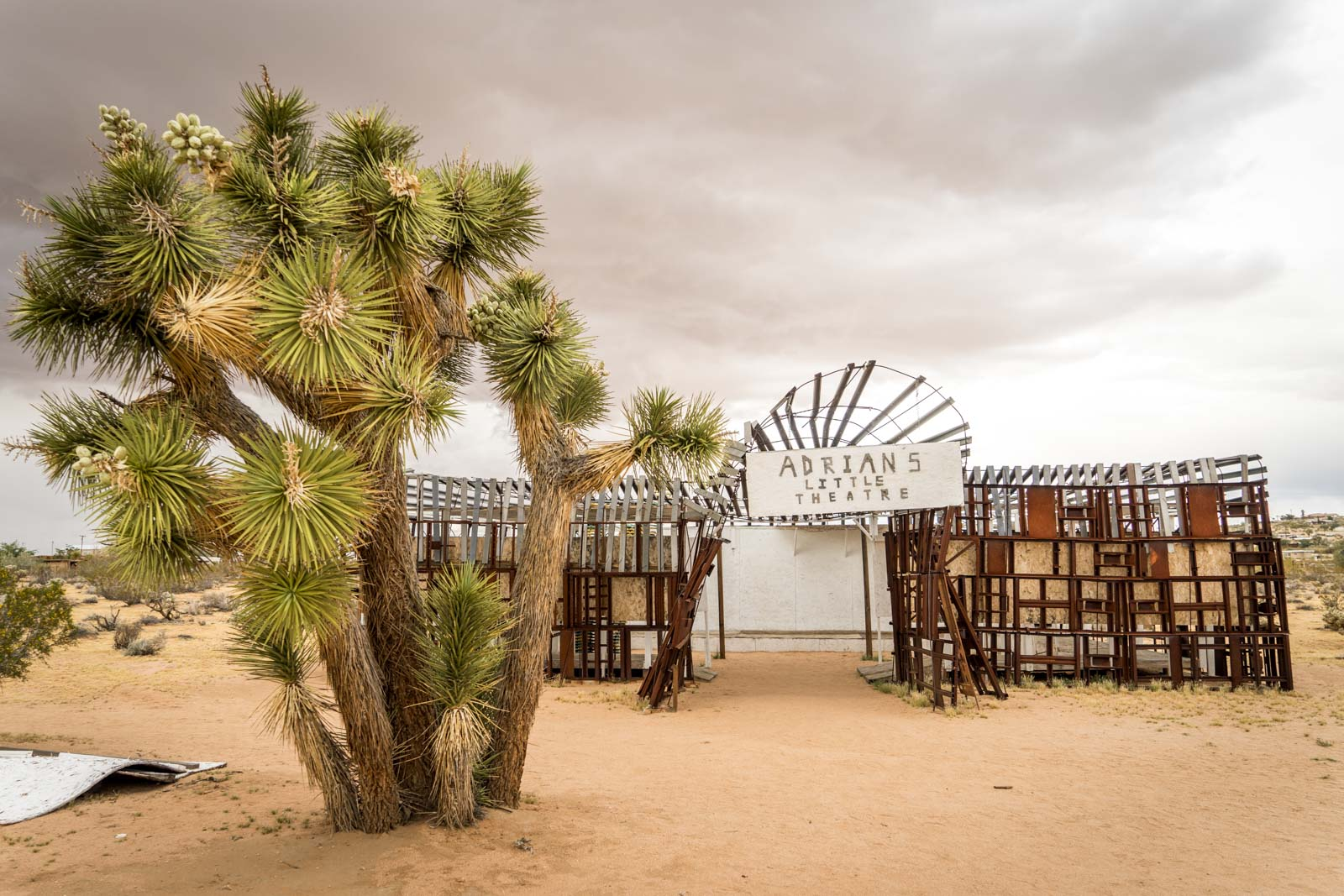 Noah Purifoy Desert Art Museum, Joshua Tree, California, USA
