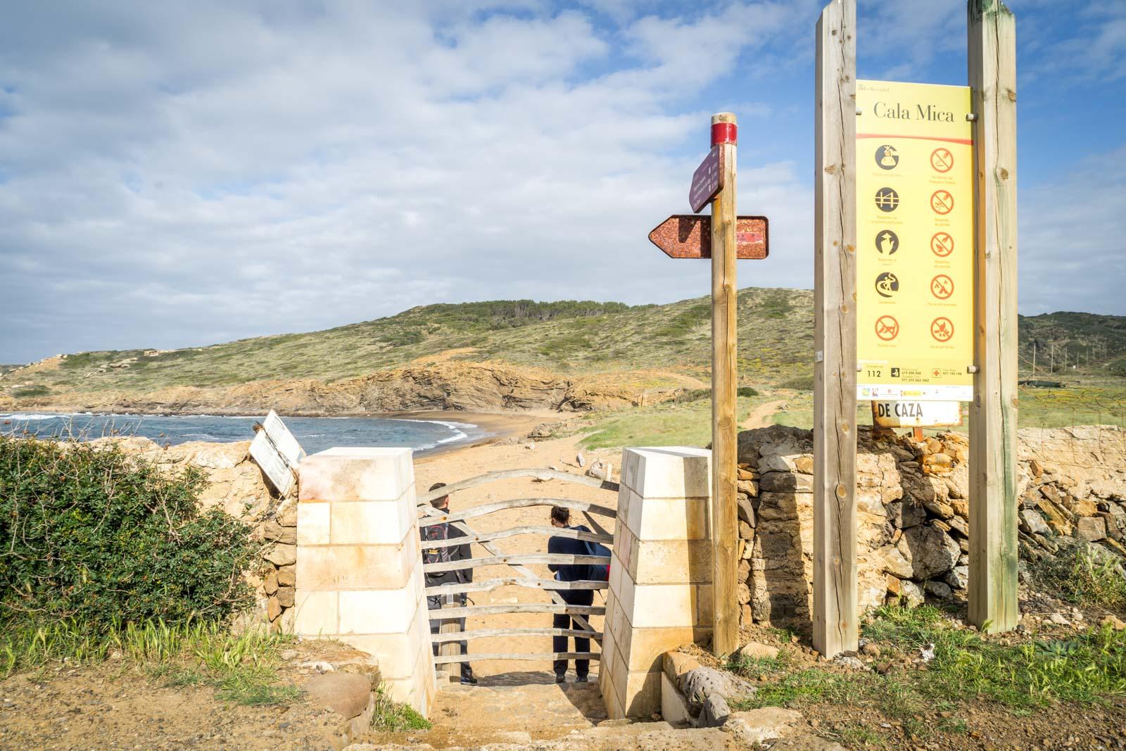 Cami de Cavalls guide, Menorca, Spain