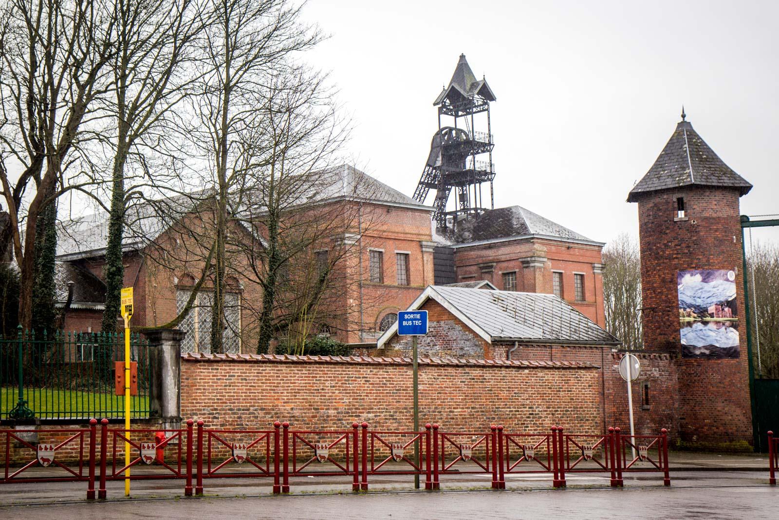Bois-du-Luc mining site, La Louvière, Belgium