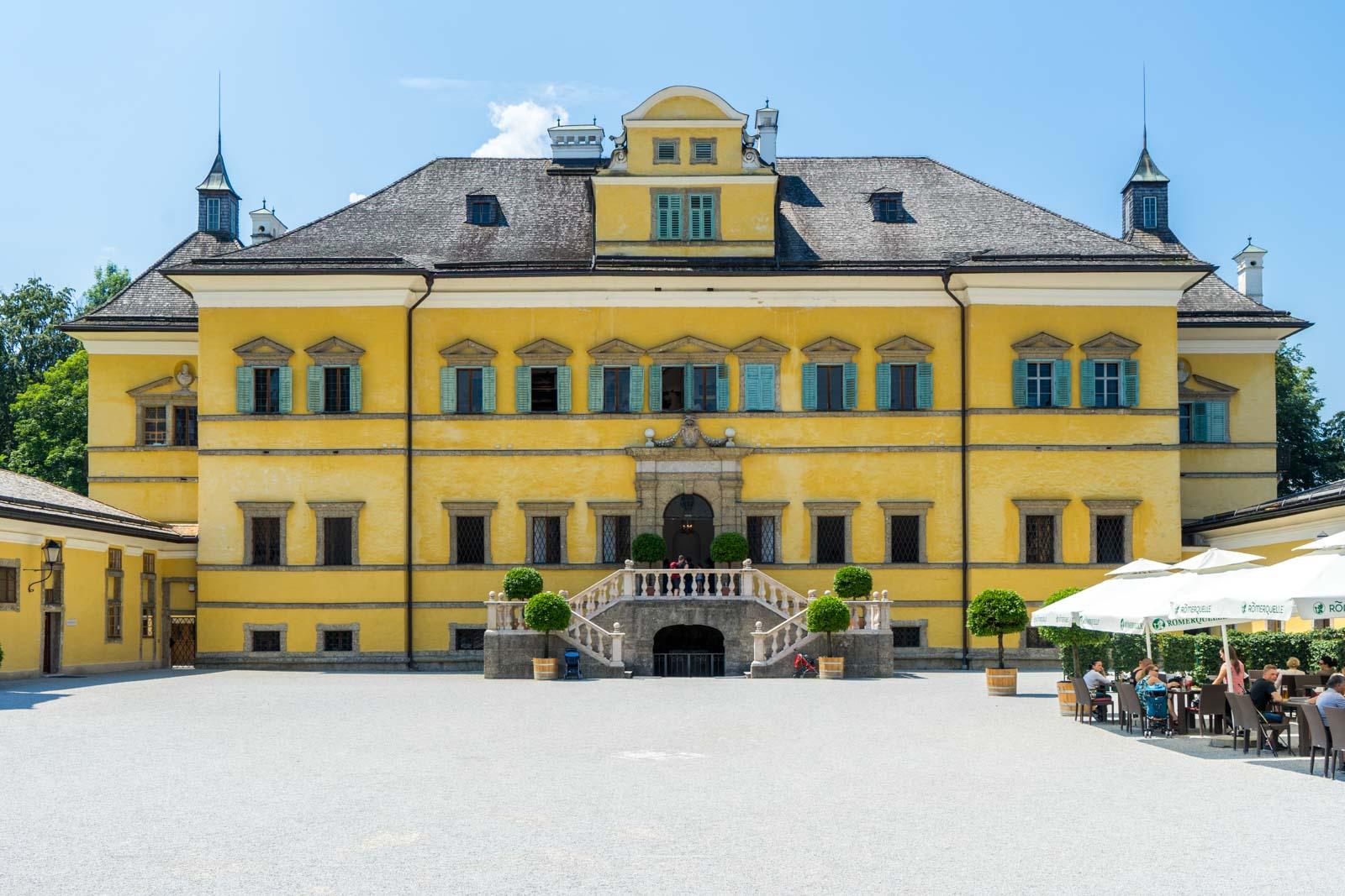 Hellbrunn Palace, Salzburg, Austria
