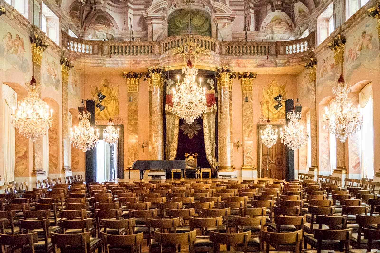 Ludwisburg Palace tour, Stuttgart, Germany