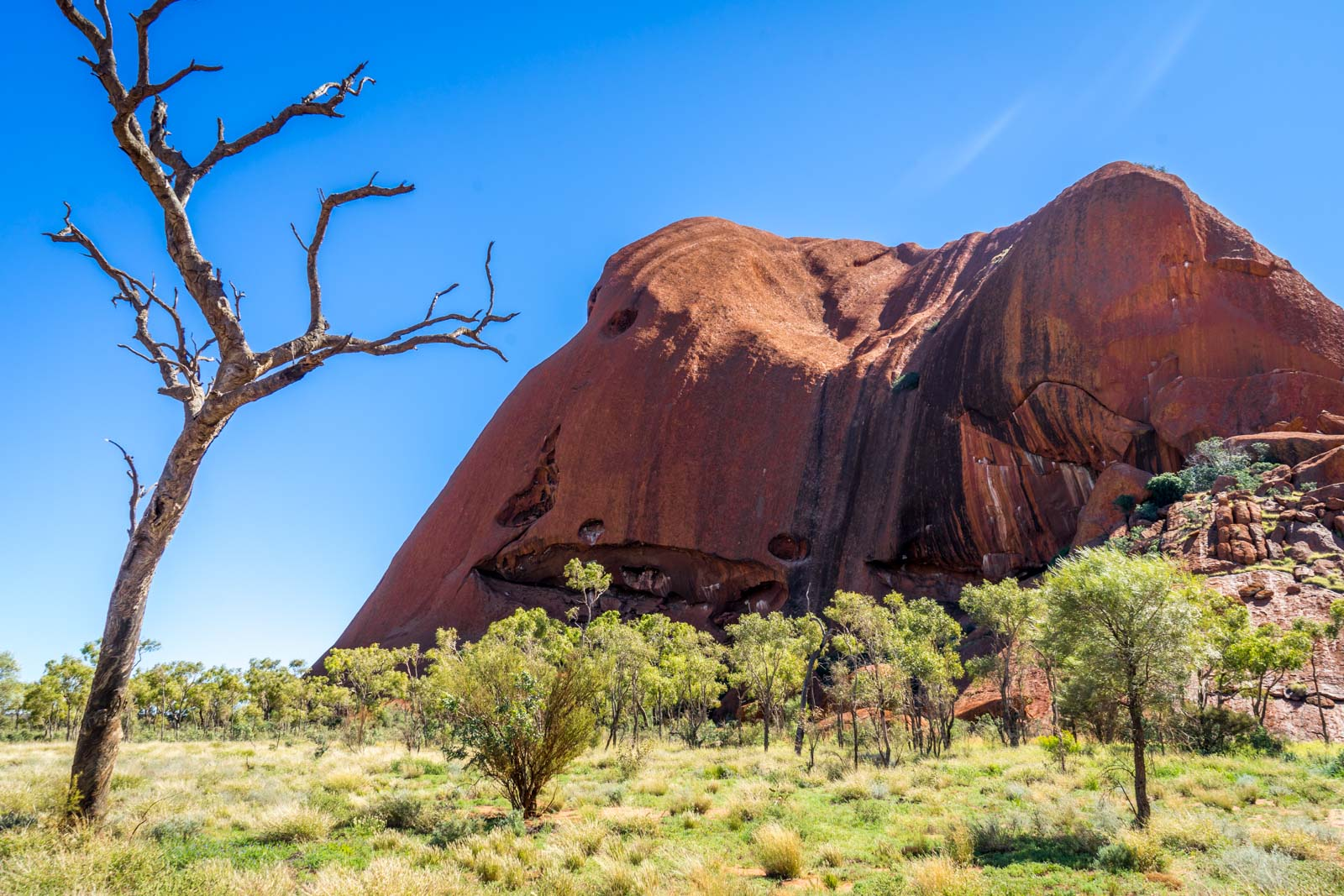 Visiting Uluru, Northern Territory, Australia