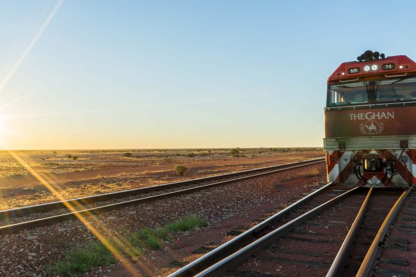 Journey on The Ghan