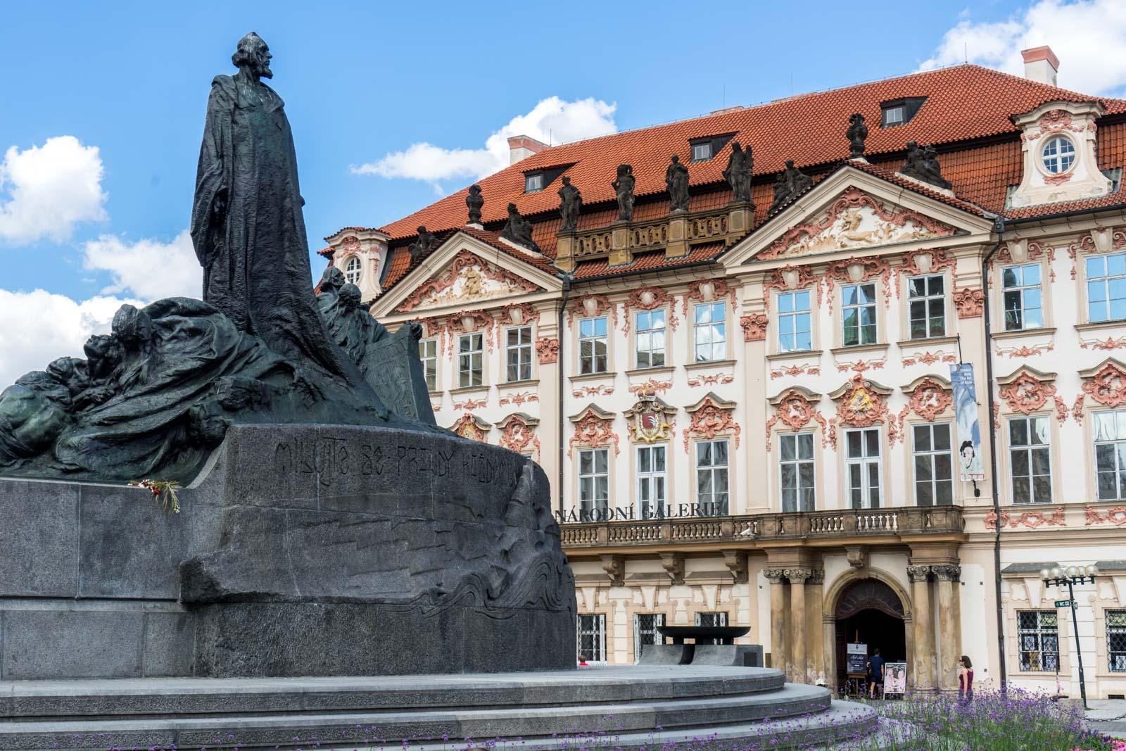 Sightseeing in Prague, Czech Republic