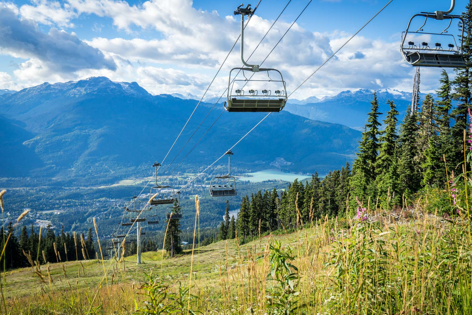 Whistler in summer, Canada