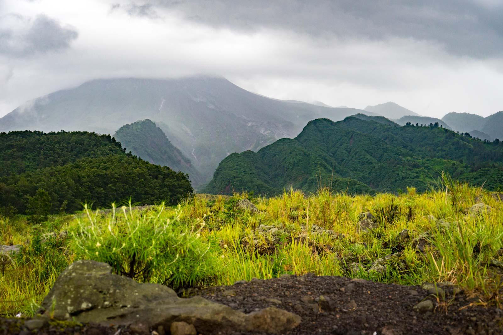 Mount Merapi jeep tour, Indonesia