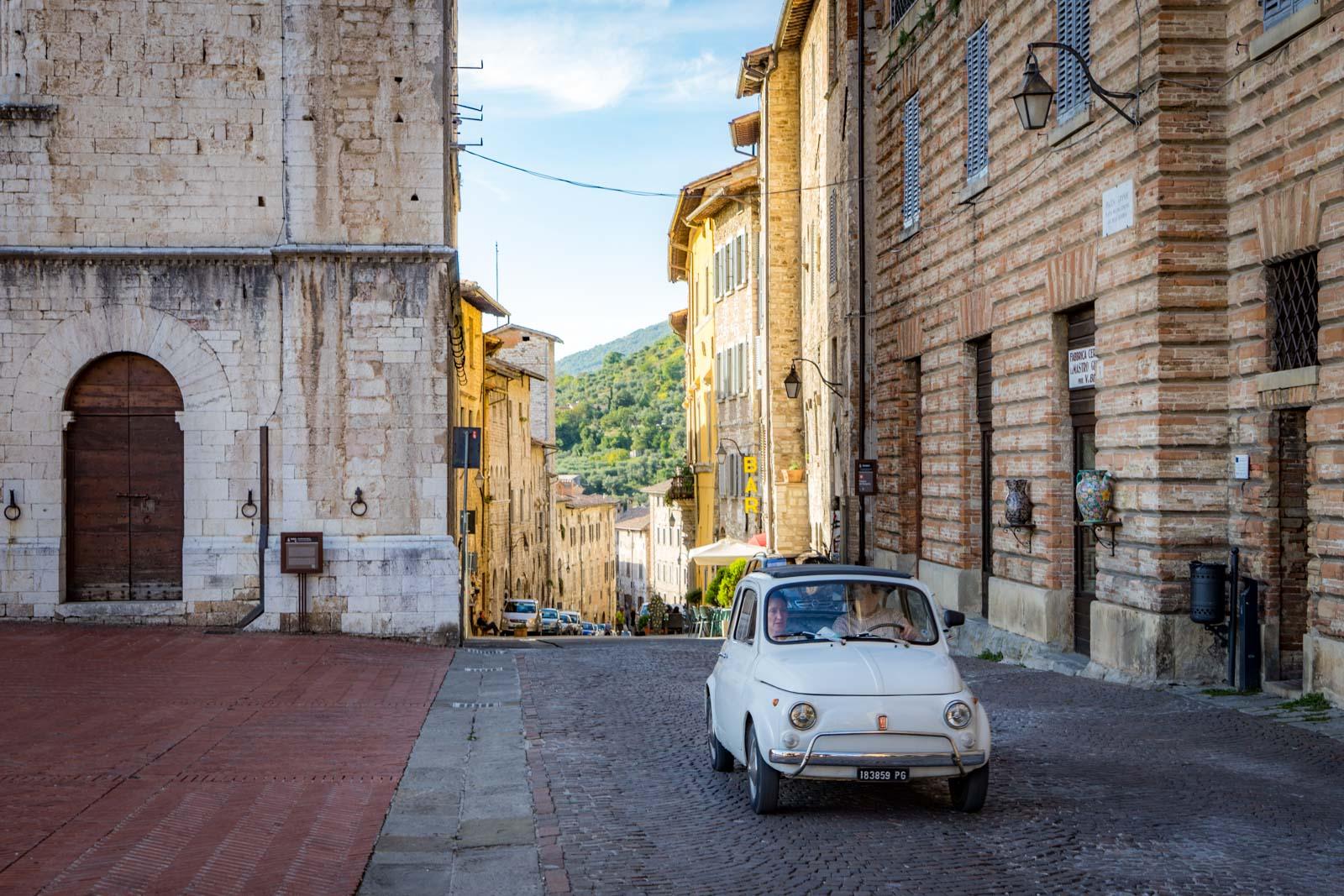 Visiting Gubbio, Umbria, Italy