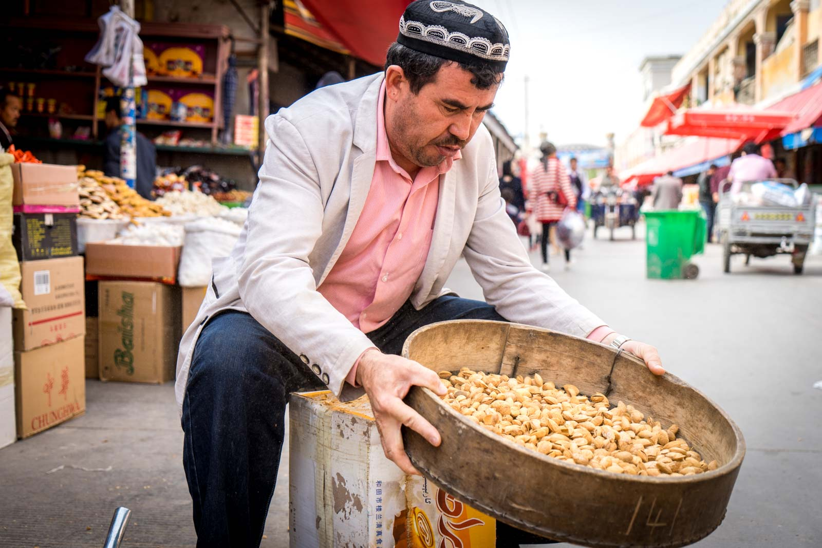 Grand Bazaar, Kashgar, China