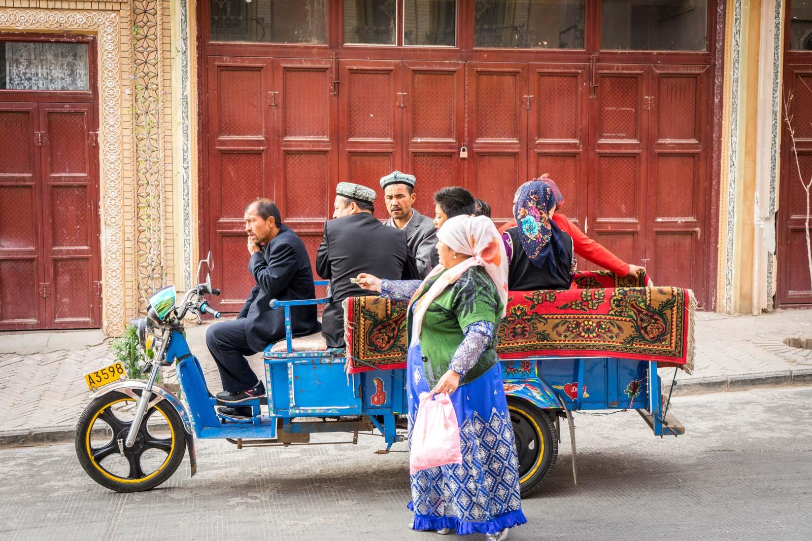 Kashgar Old City, China
