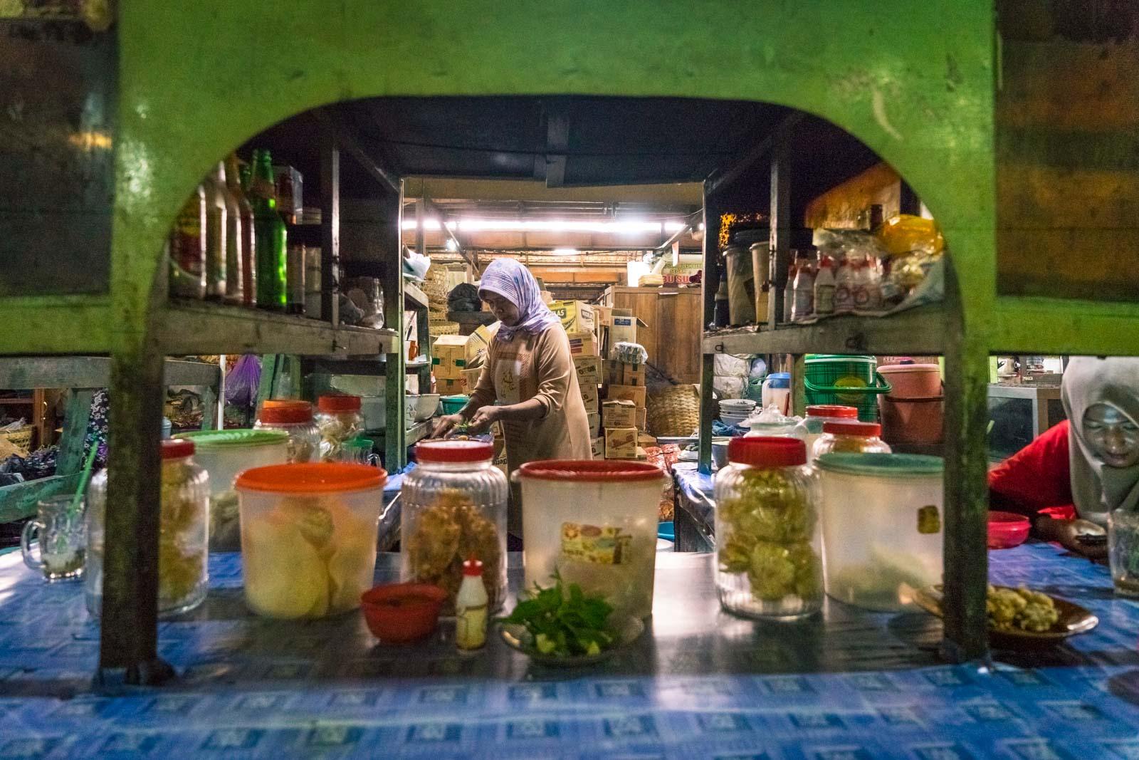 Pasar Legi market, Yogyakarta, Indonesia