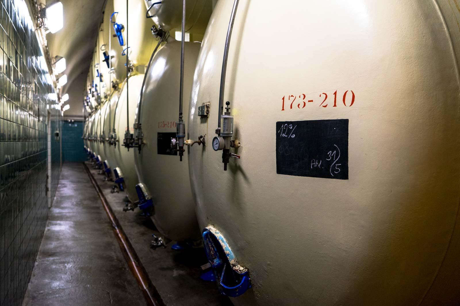 Budweiser brewery tour, Ceske Budejovice, Czech Republic