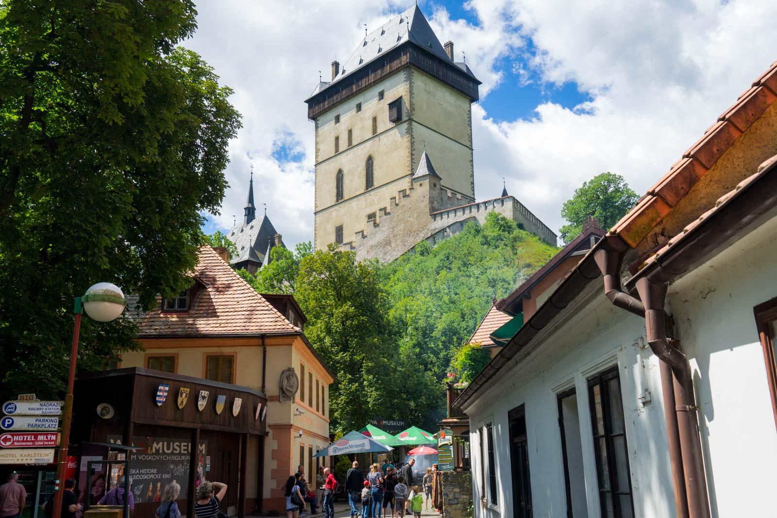 Karlstejn Castle, near Prague, Czech Republic