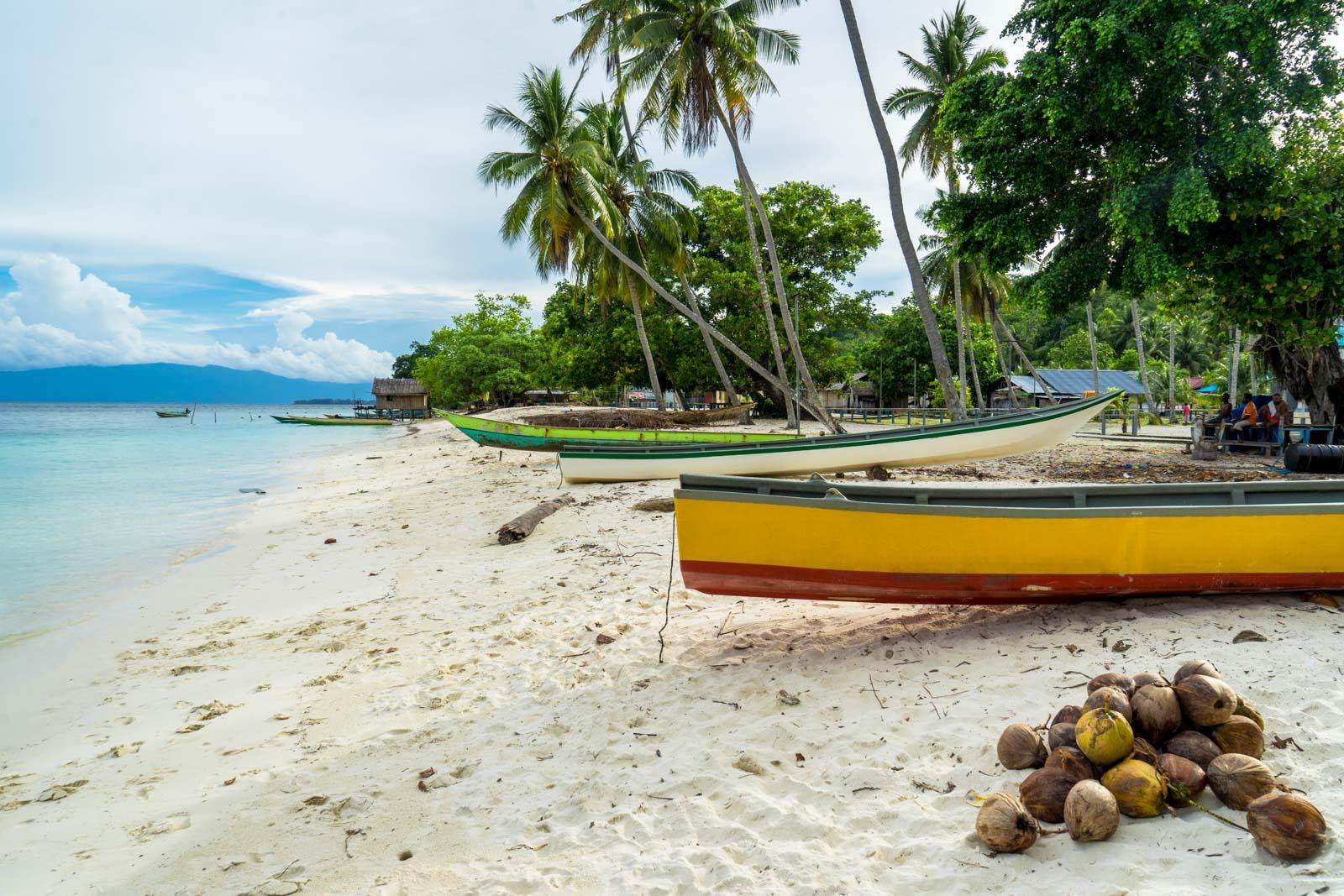 Sauandarek Village, West Papua, Indonesia