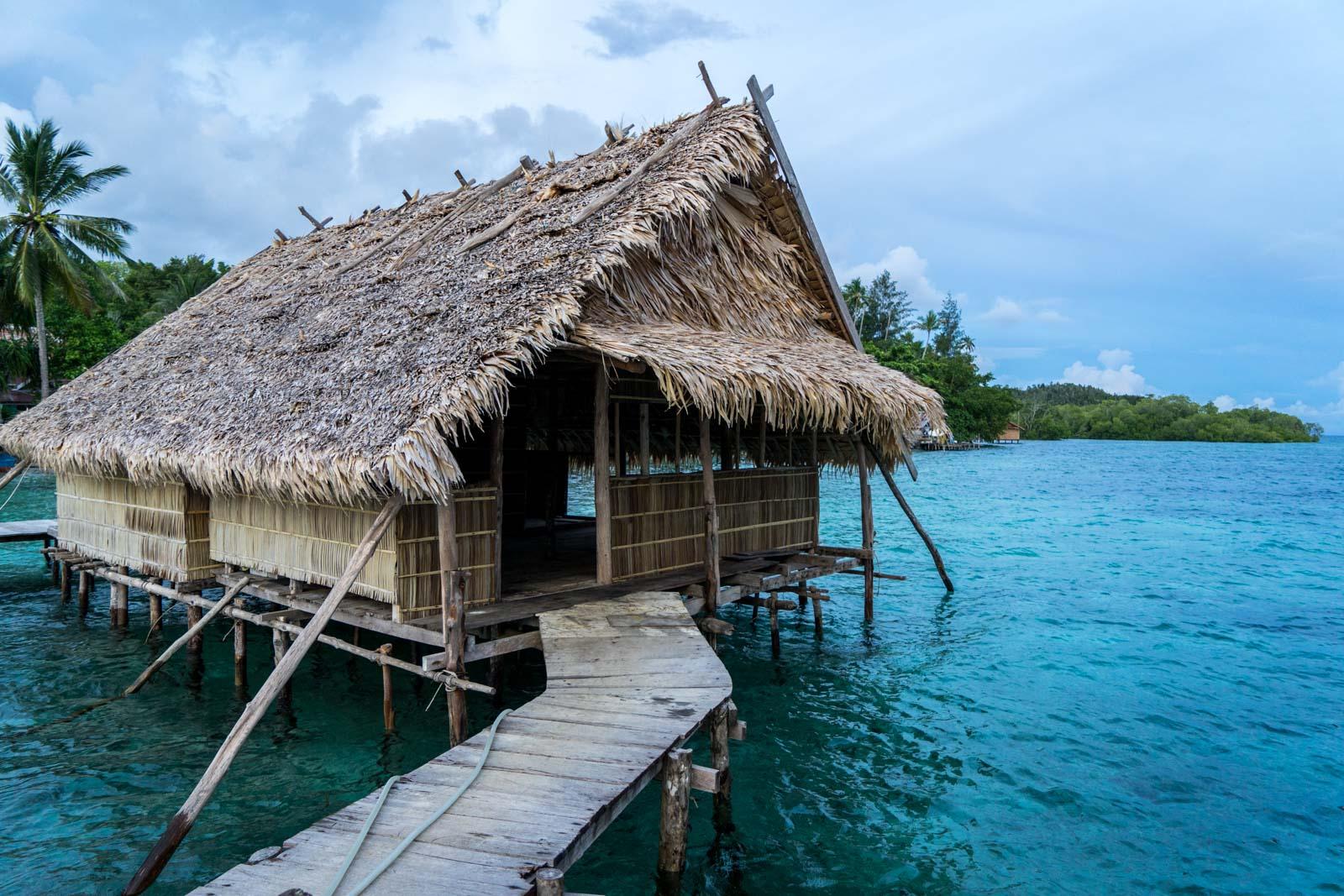 Sawinggrai Village, West Papua, Indonesia