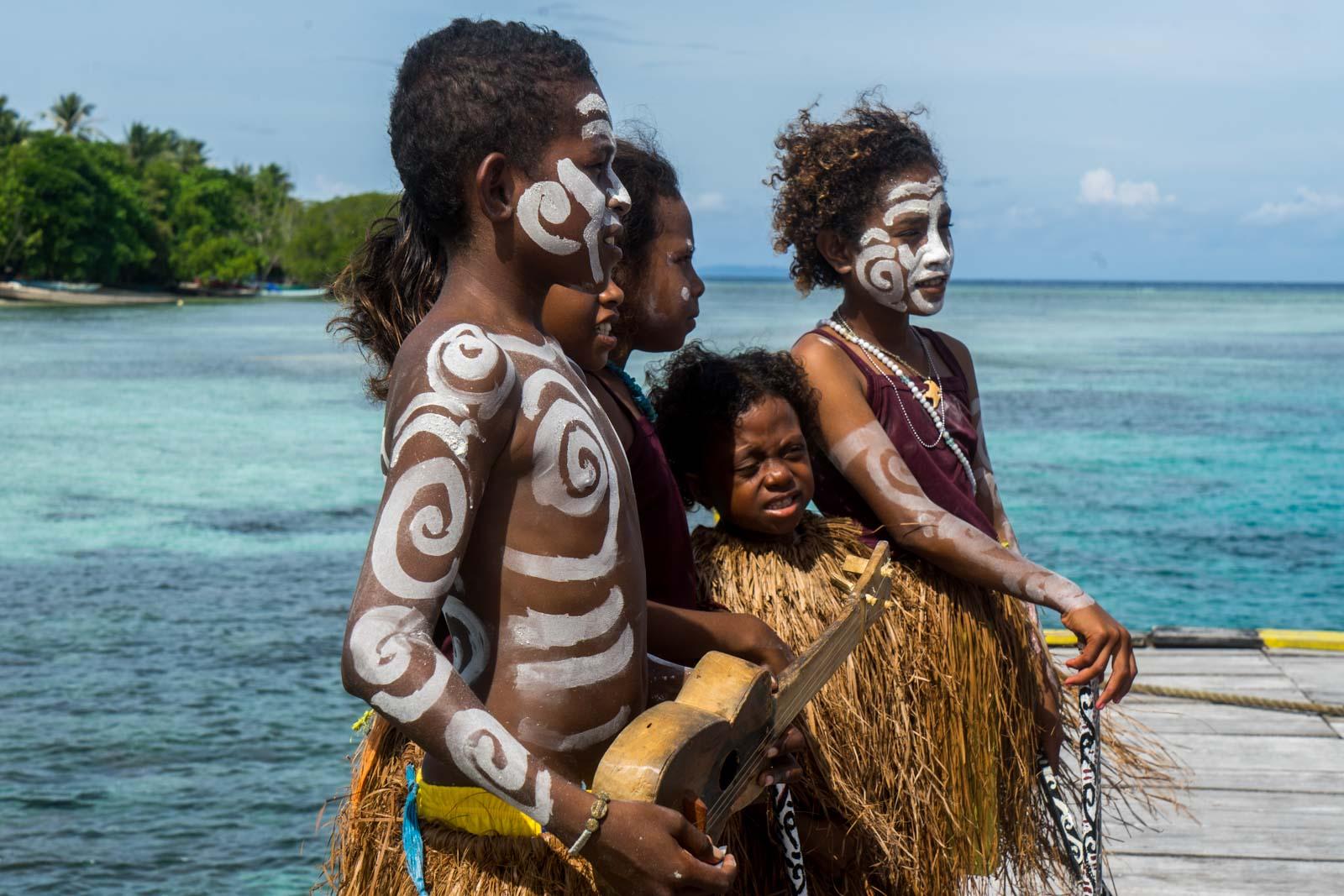 Arborek Village, West Papua, Indonesia