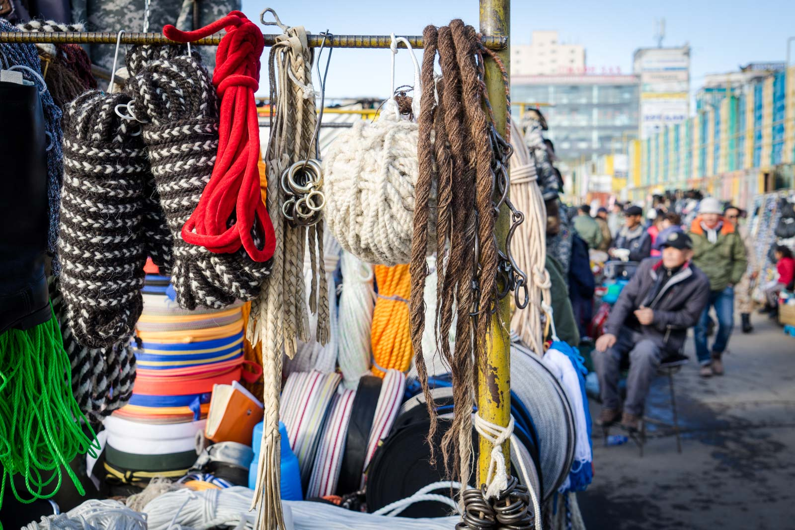 The Black Market (Naran Tuul), Ulaanbaatar, Mongolia