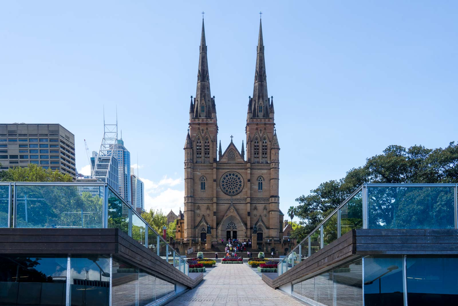 St Mary's Cathedral, Sydney, NSW, Australia