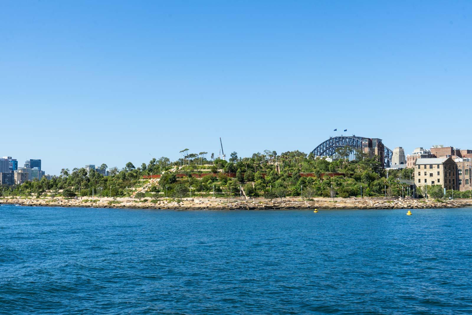 Barangaroo Reserve, Sydney, NSW, Australia