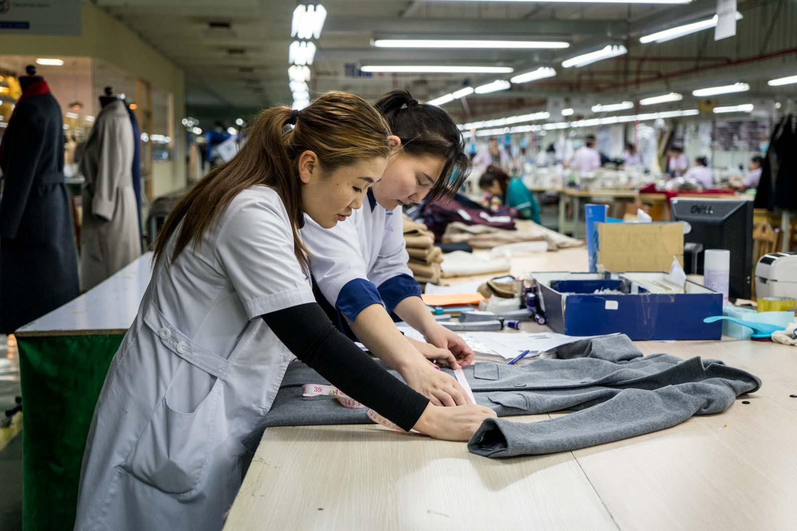 Gobi cashmere factory, Ulaanbaatar, Mongolia