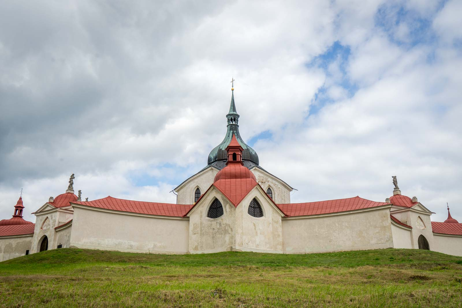 Pilgrimage Church of Saint John of Nepomuk, Zelená hora, Czech Republic
