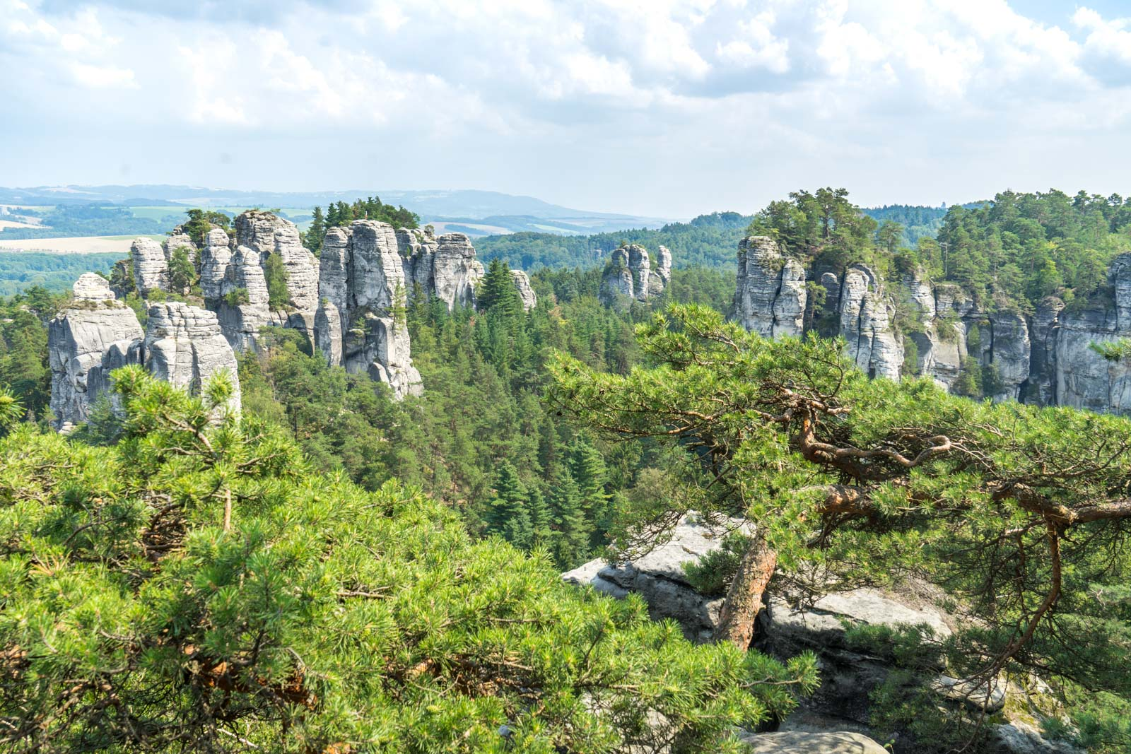 Hiking in Bohemian Paradise, Czech Republic