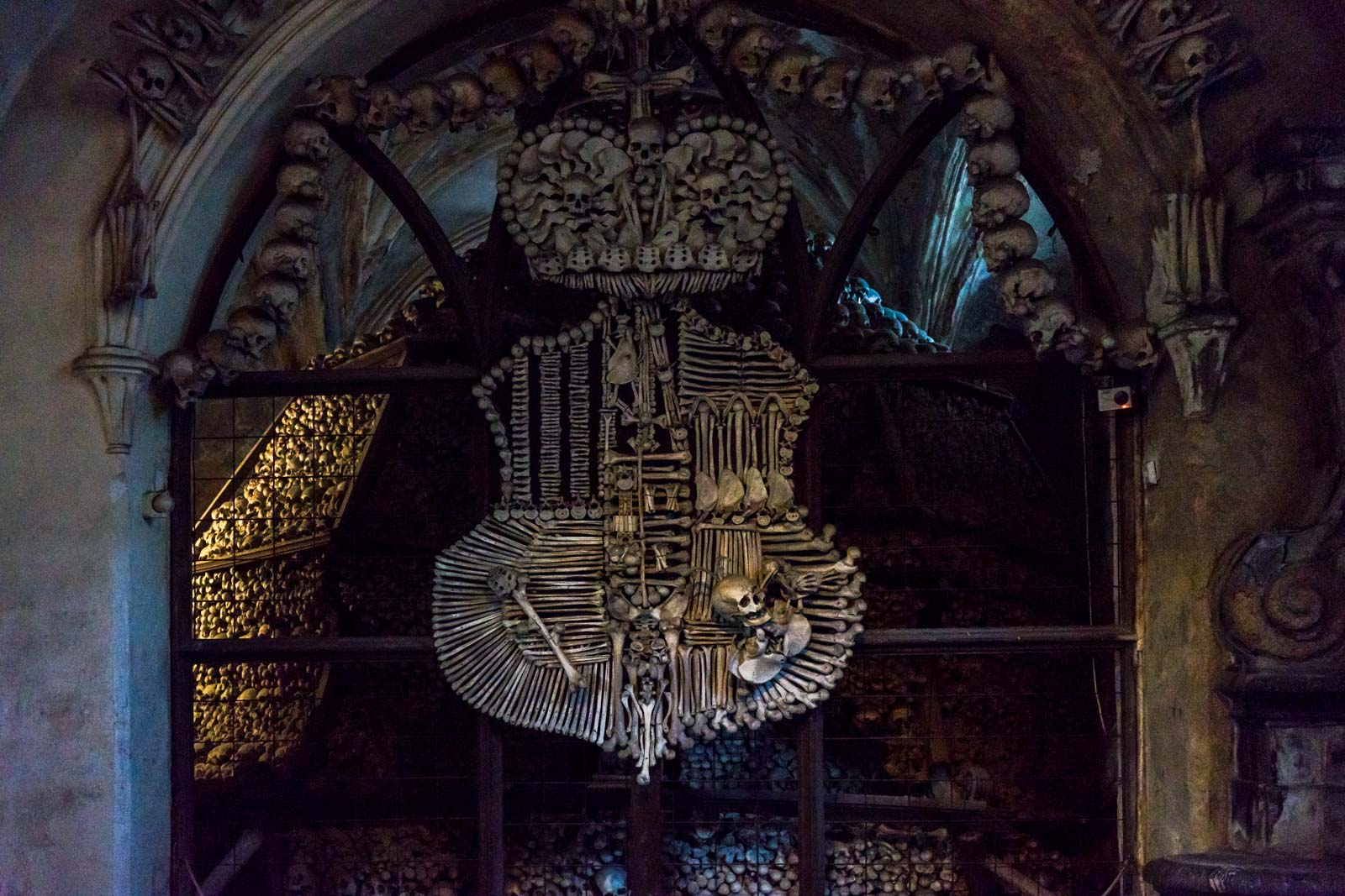 Bone Church, Sedlec Ossuary, Kutná Hora, Czech Republic