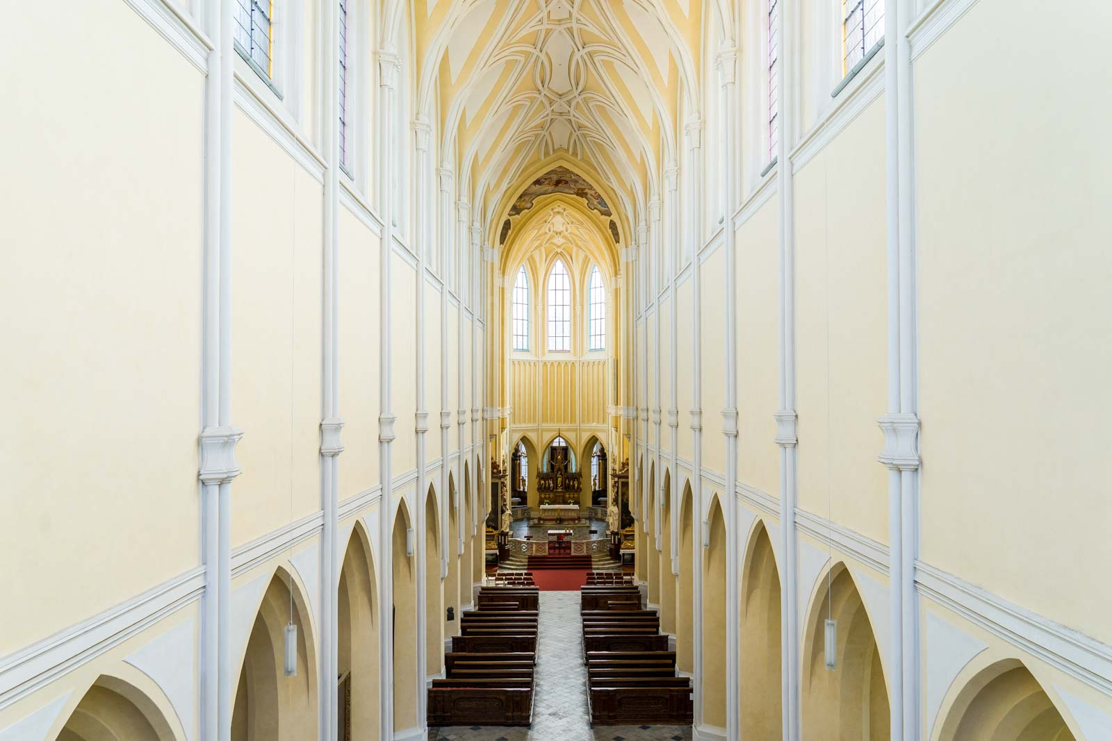 Cathedral of Our Lady at Sedlec, Kutna Hora, Czech Republic