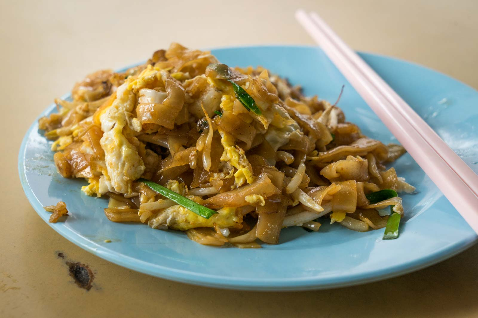 The best food in George Town in Penang, Malaysia