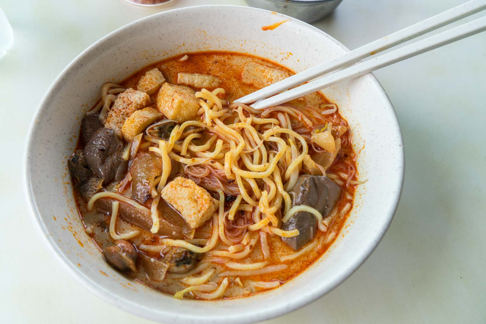 Curry Mee, Penang, Malaysia