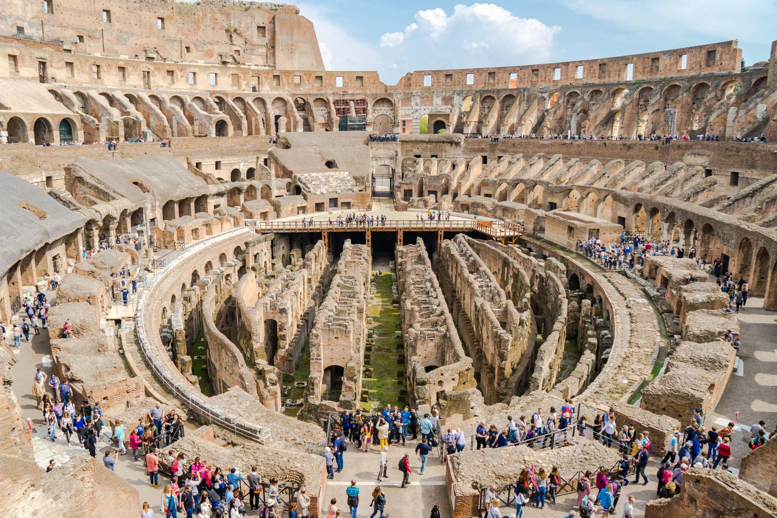 Visiting The Colosseum In Rome