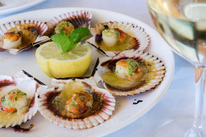 Seafood, Galicia, Spain