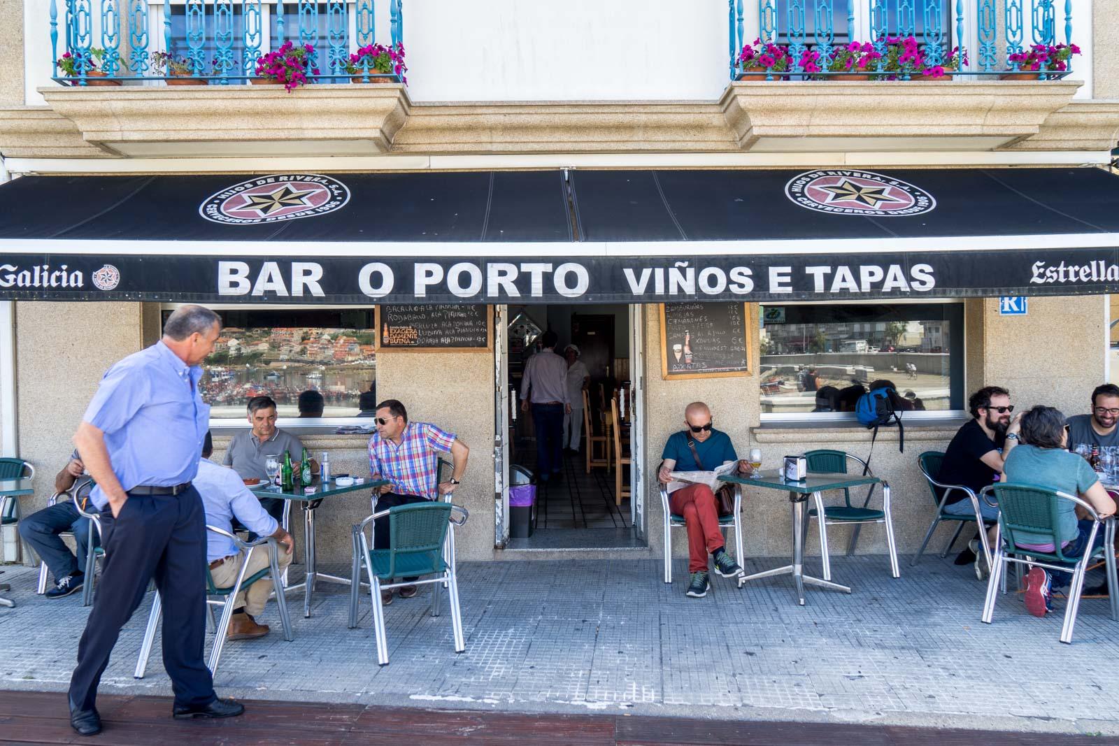 Bar o Porto, Arousa, Spain
