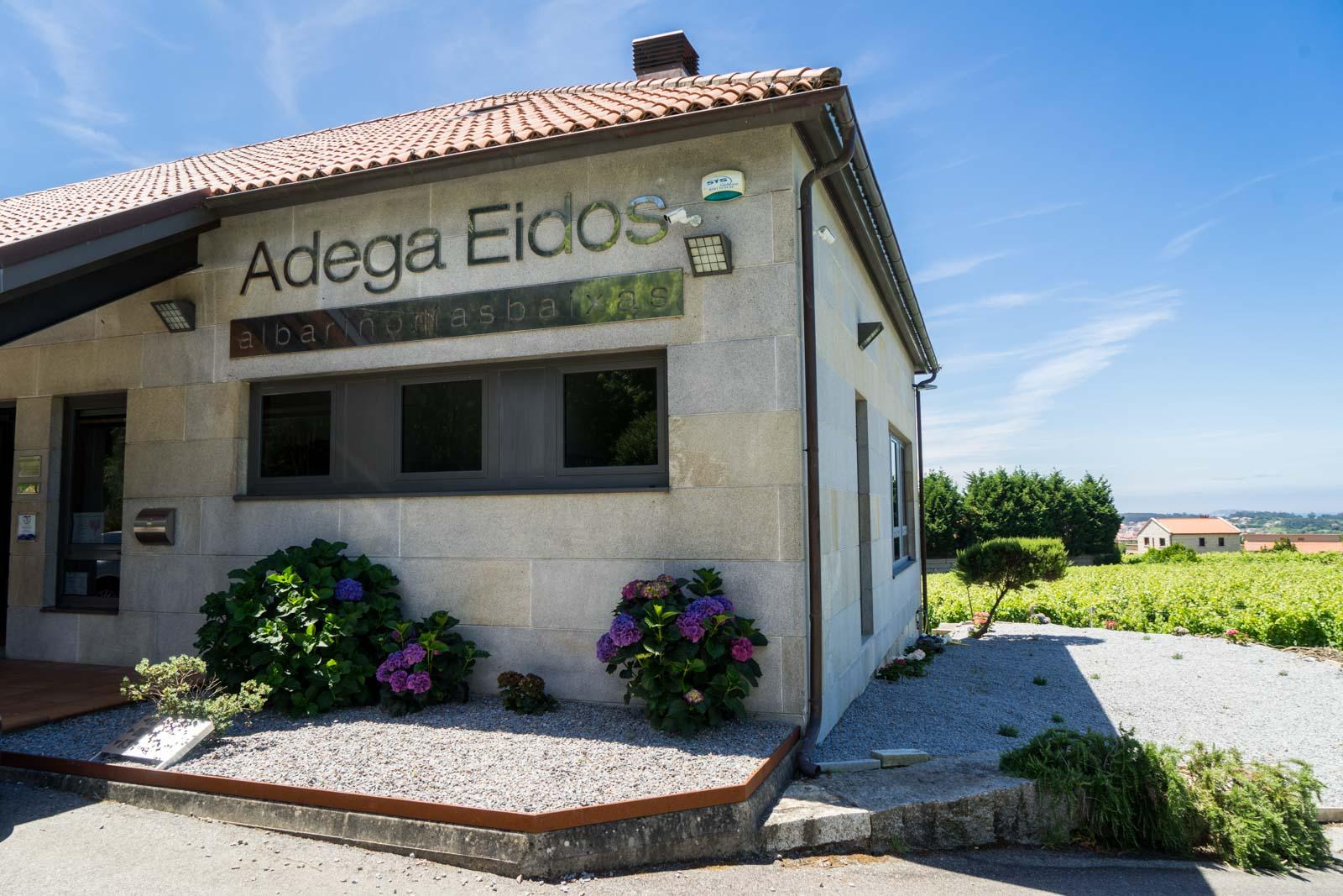 Adega Eidos, Galicia, Spain