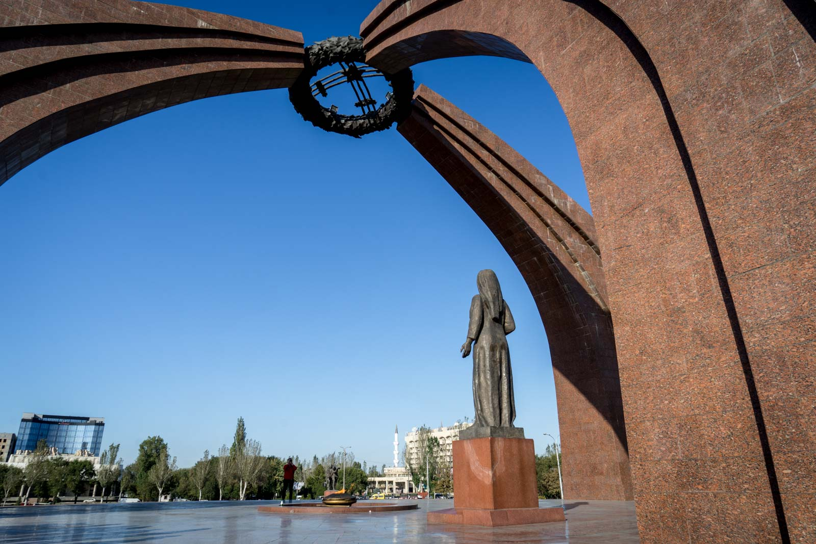 Victory Monument, Bishkek, Kyrgyzstan