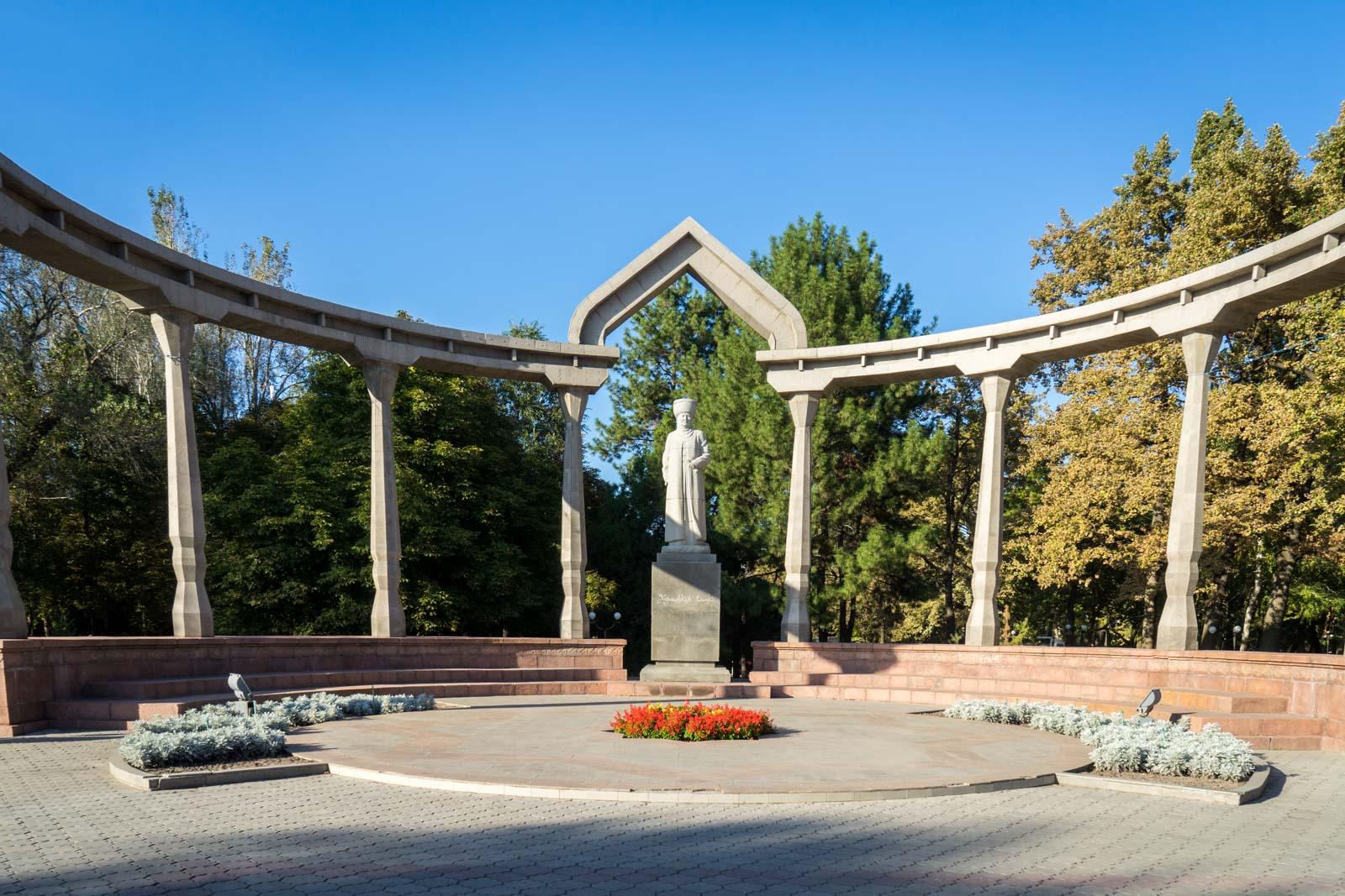 Kurmanjan Datka statue, Bishkek, Kyrgyzstan