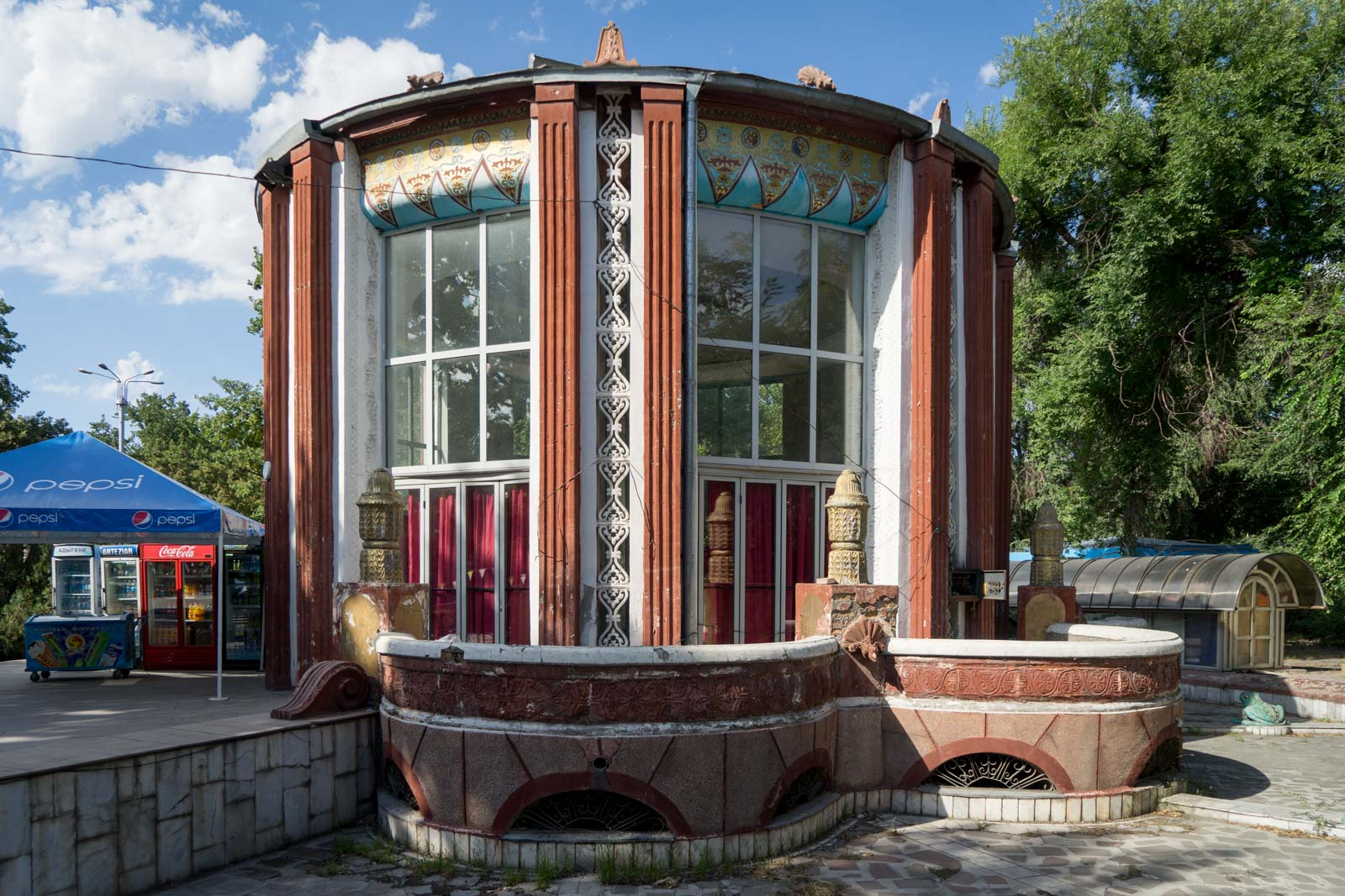 Soda Shop, Bishkek, Kyrgyzstan