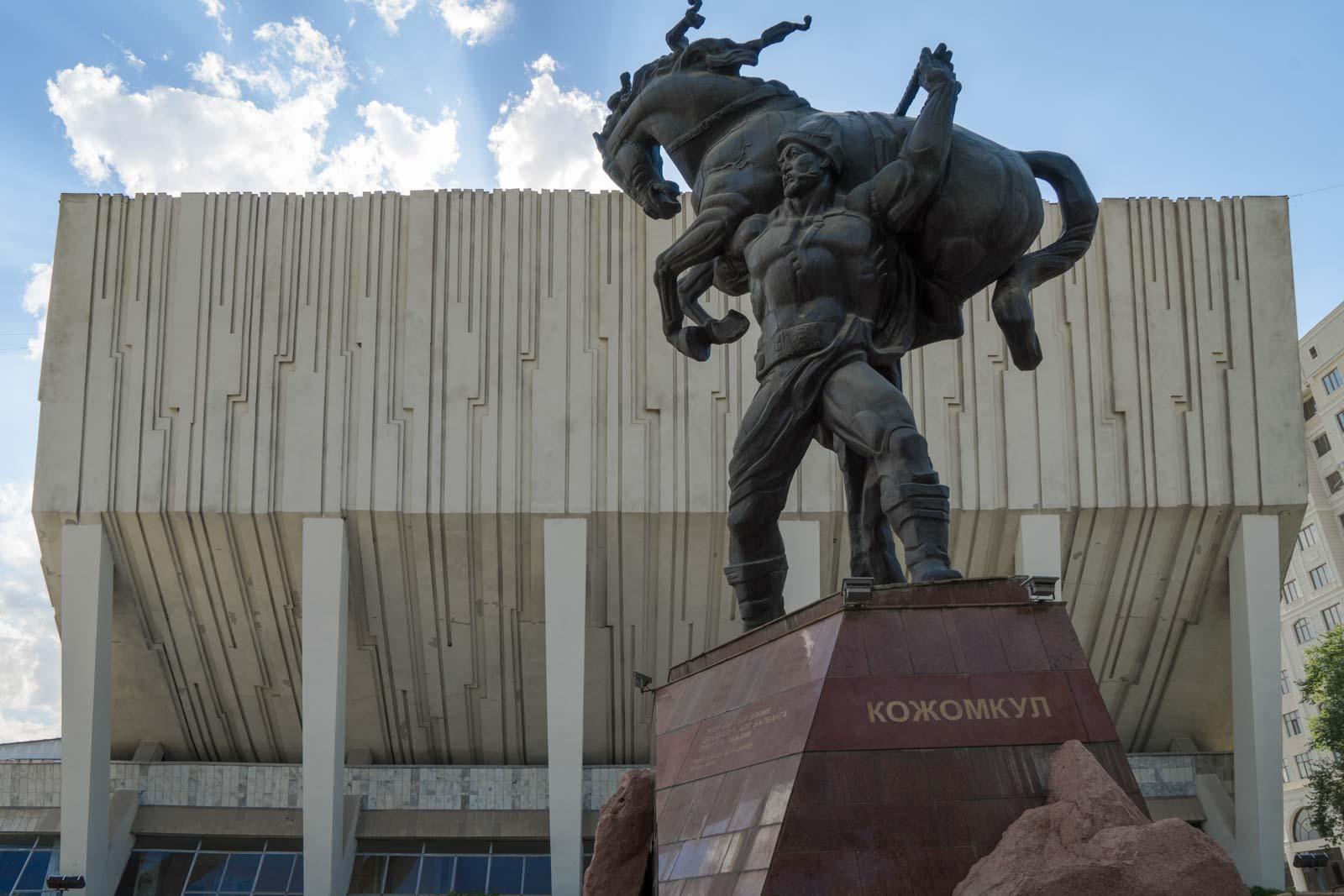 Sports Palace, Bishkek, Kyrgyzstan