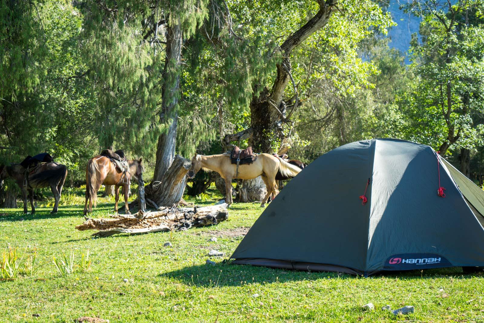 Horse trek to Sary-Chelek, Kygryzstan