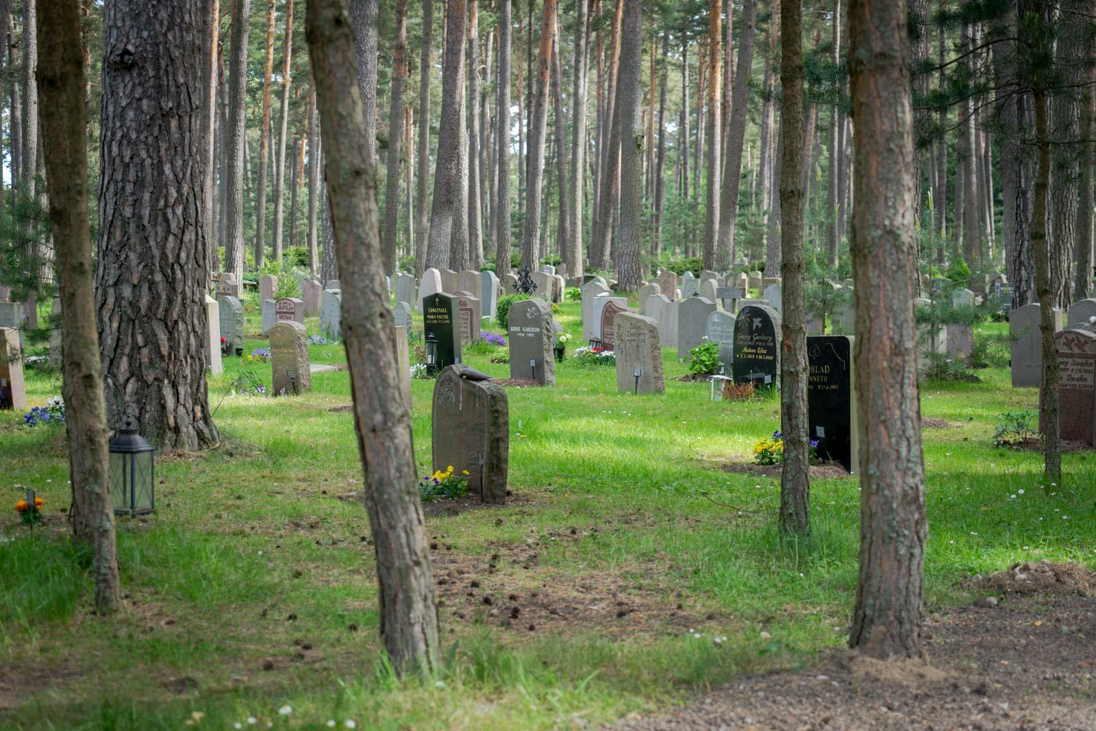 Skogskyrkogarden, The Woodland Cemetery, Stockholm, Sweden