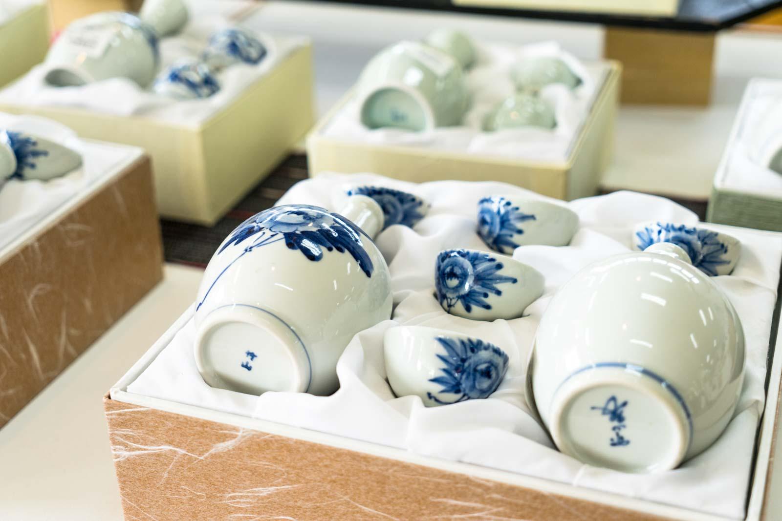 Tobe pottery, Ehime, Japan