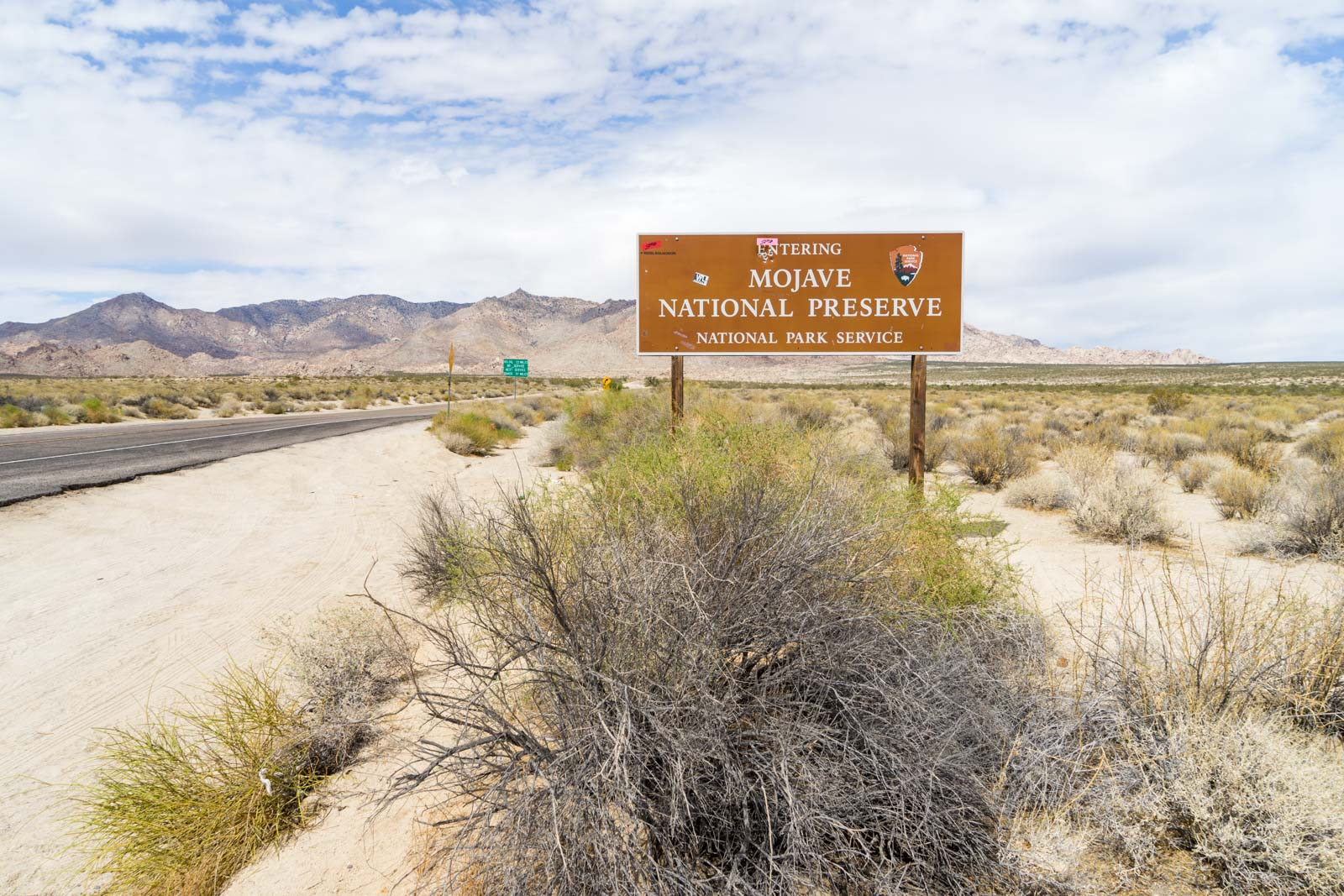 Mojave National Preserve guide, California, USA