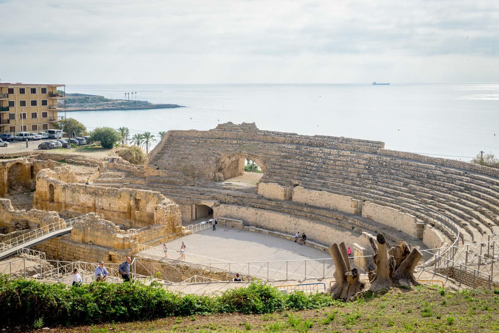 Tarragona Amphitheatre, Spain
