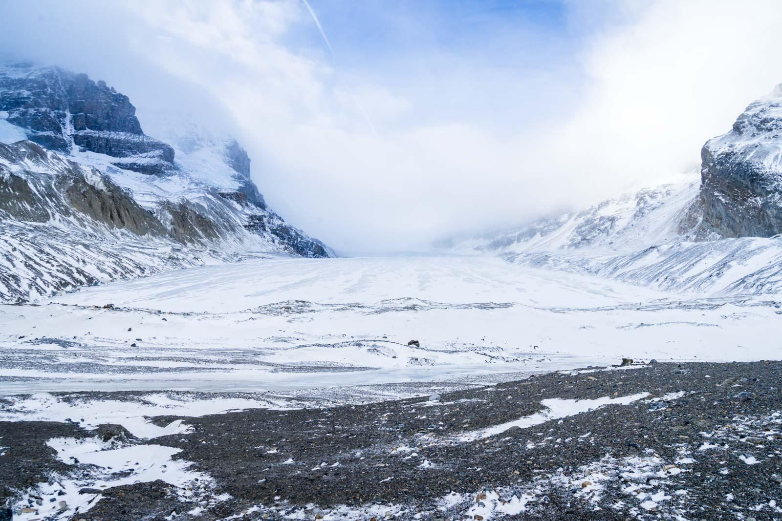 Columbia Icefield, Jasper NP, Alberta, Canada