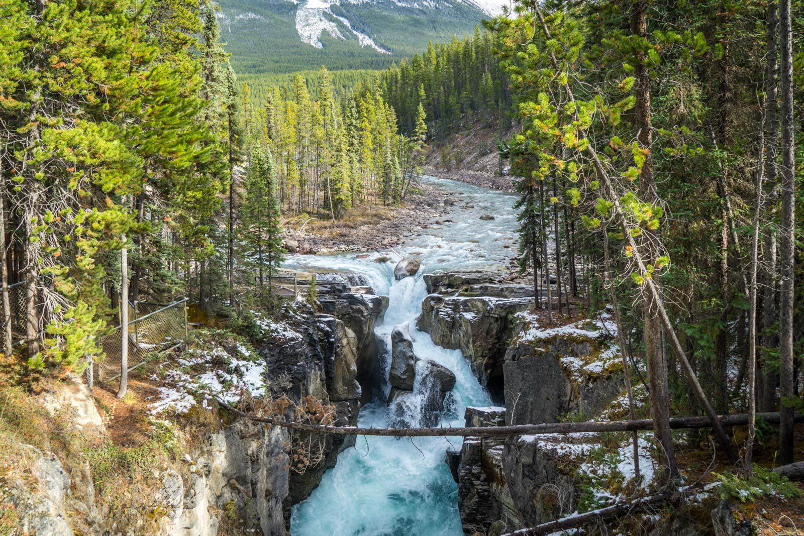 Sunwapta Falls, Jasper NP, Alberta, Canada