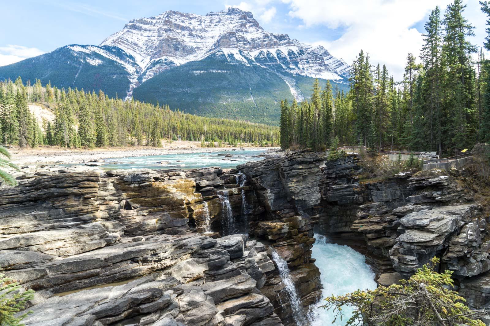 Athabasca Falls, Jasper NP, Alberta, Canada