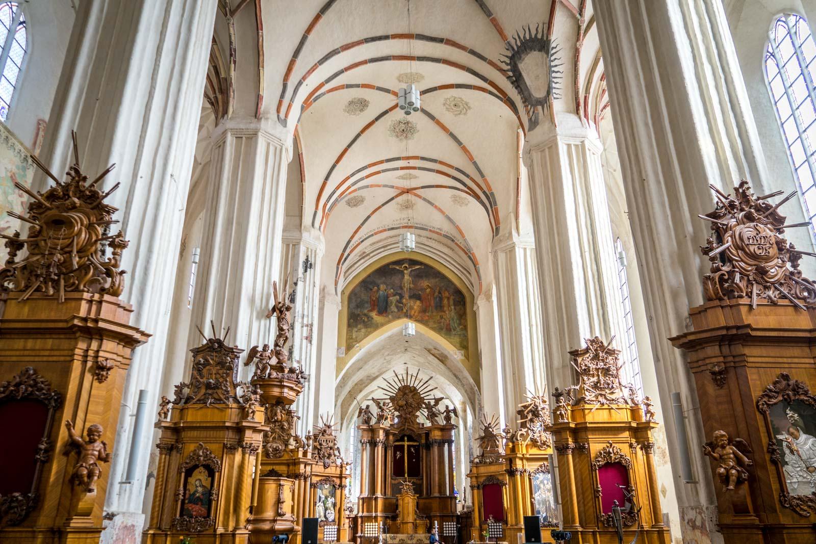 Church of St Francis, Vilnius